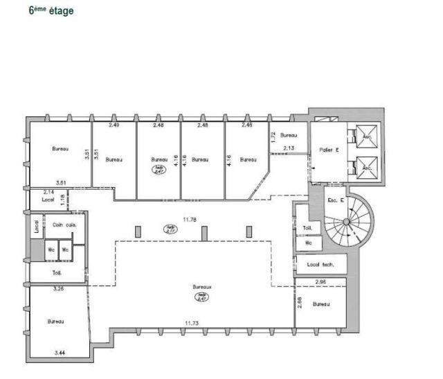 offices of 372 m2 - 5